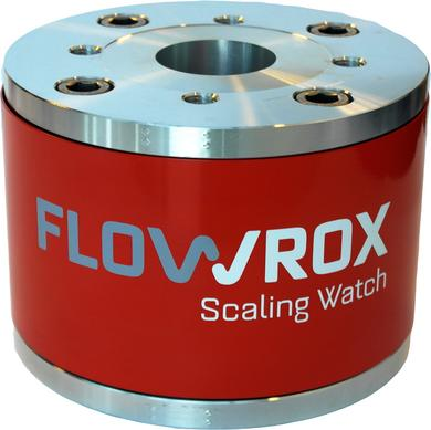 Flowrox Scaling Watch measures Scaling from the Pipe Cross Section