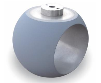 Metal to metal trunnion ball