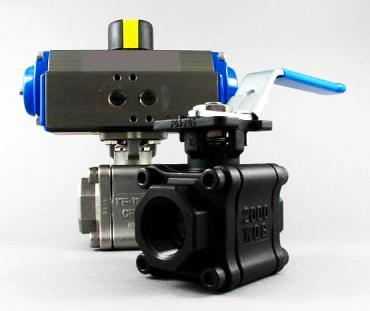 AF-35 3-PC Fire-Safe Direct Mount Ball Valve