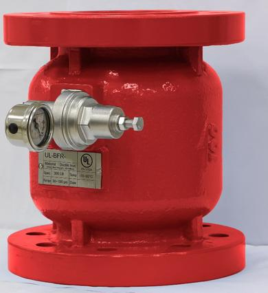 UL Pressure Reducing Valve