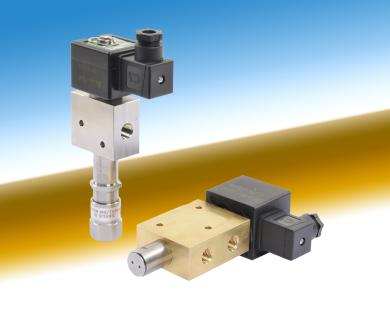 ASCO solenoid valve with under pressure removable Manual operator